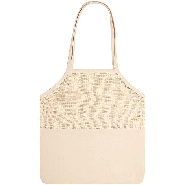 Trobax bavlněná nákupní taška - béžová