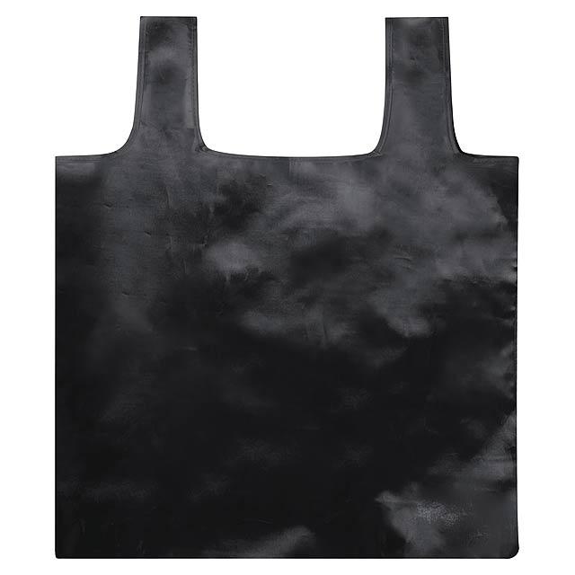 Restun skládací nákupní taška - černá