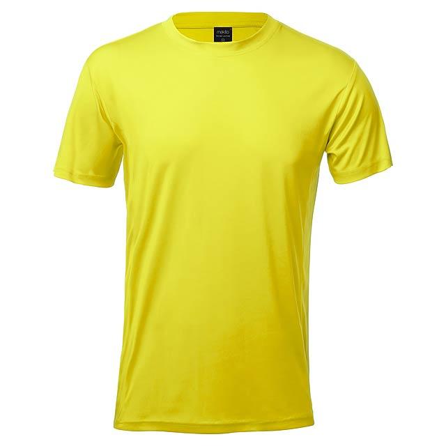 Tecnic Layom sportovní tričko - žlutá