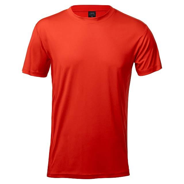 Tecnic Layom sportovní tričko - červená