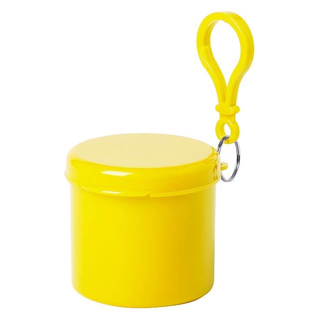 Birtox pončo - žlutá