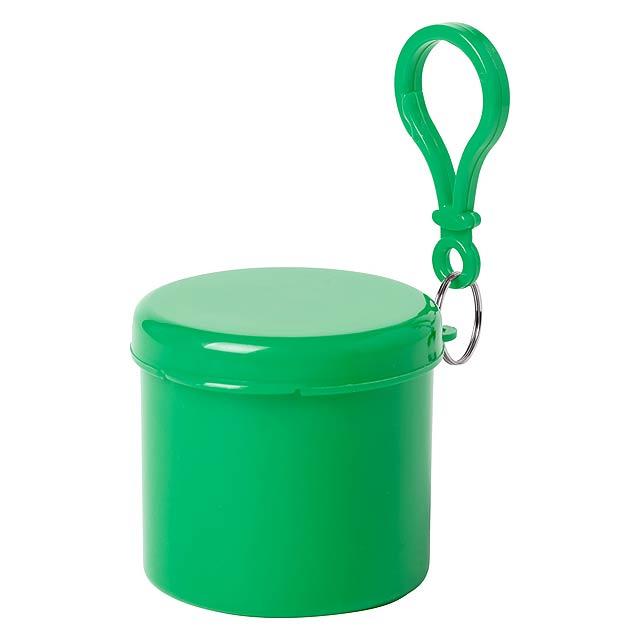 Birtox pončo - zelená