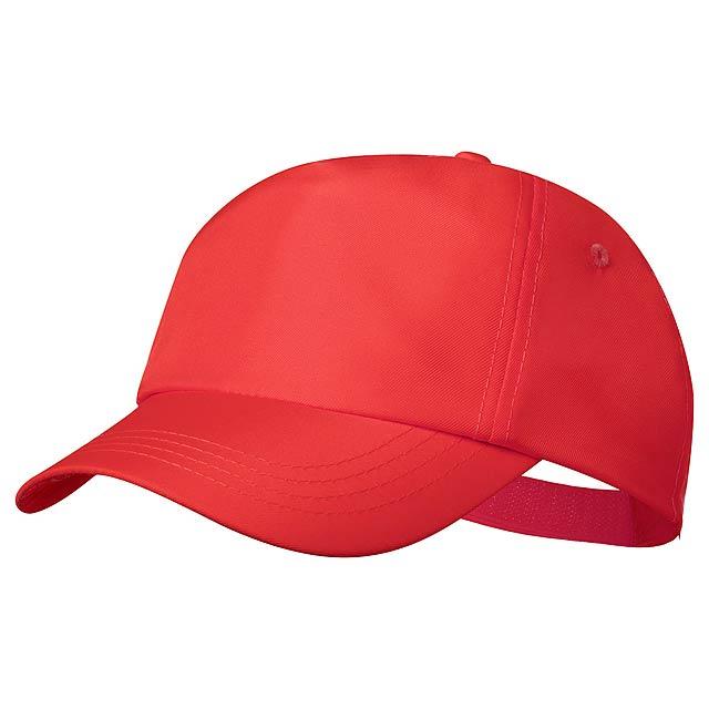 Keinfax baseballová čepice - červená