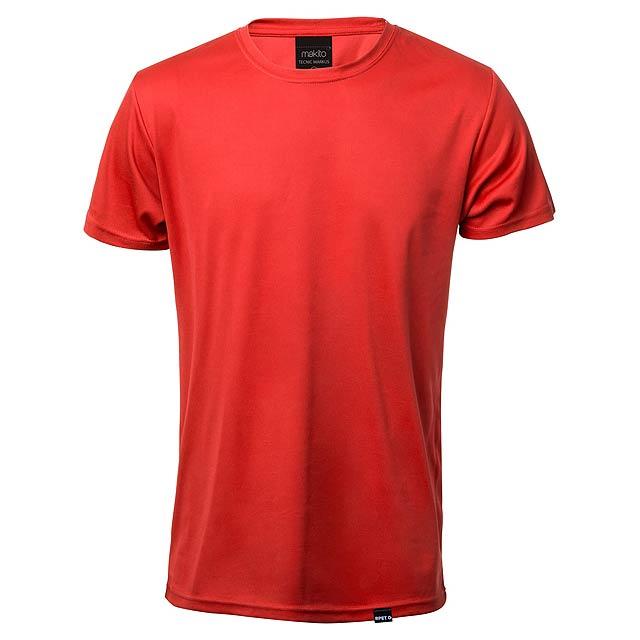 Tecnic Markus sportovní tričko - červená