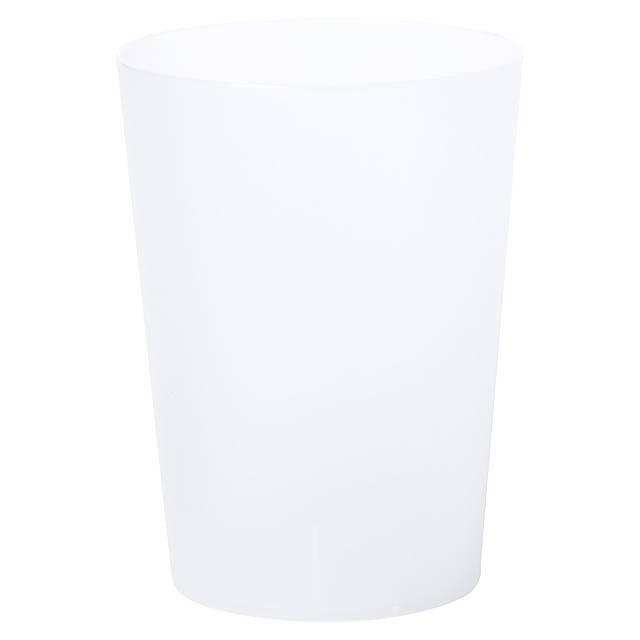 Nirmal pohárek na pití - transparentní