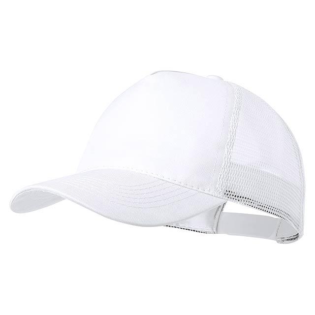 Clipak baseballová čepice - bílá