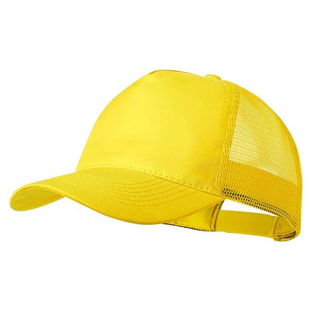 Clipak baseballová čepice - žlutá