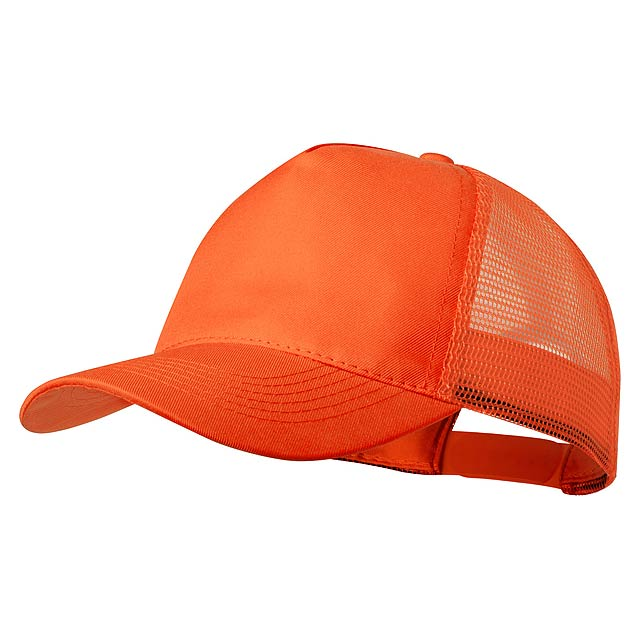 Clipak baseballová čepice - oranžová