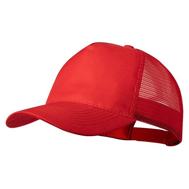 Clipak baseballová čepice - červená