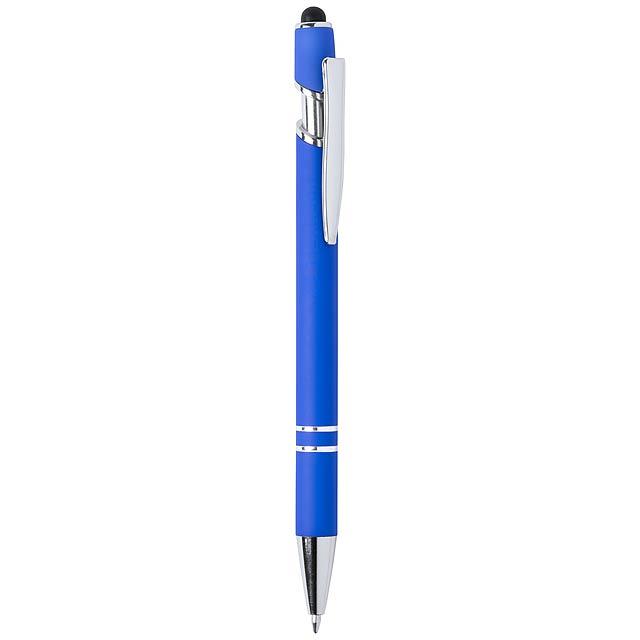 Lekor dotykové kuličkové pero - modrá