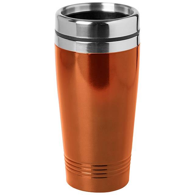 Domex termo hrnek - oranžová