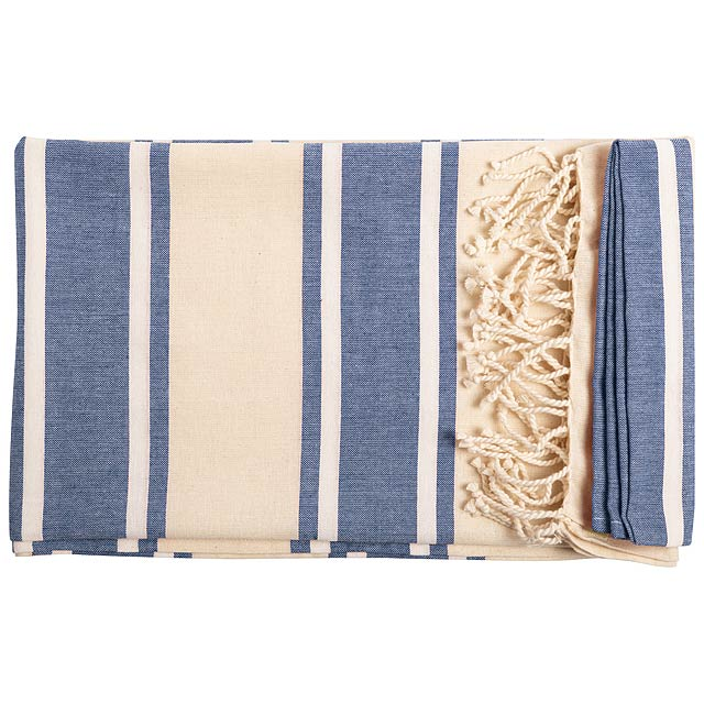 Yistal plážový ručník - modrá