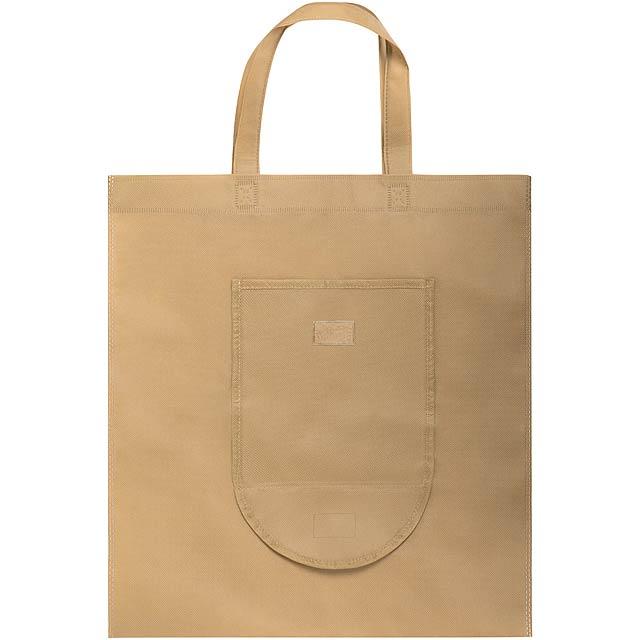 Fesor skládací nákupní taška - hnědá