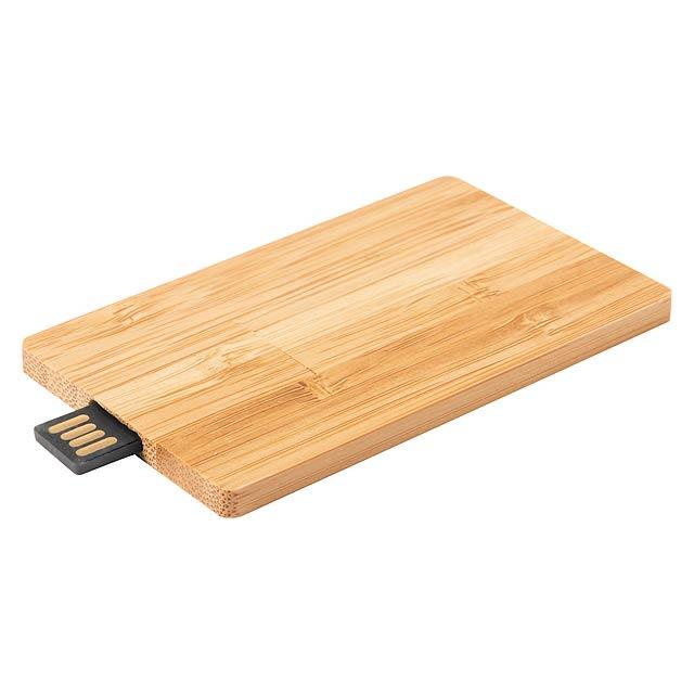 Zilda 16GB USB flash disk - dřevo
