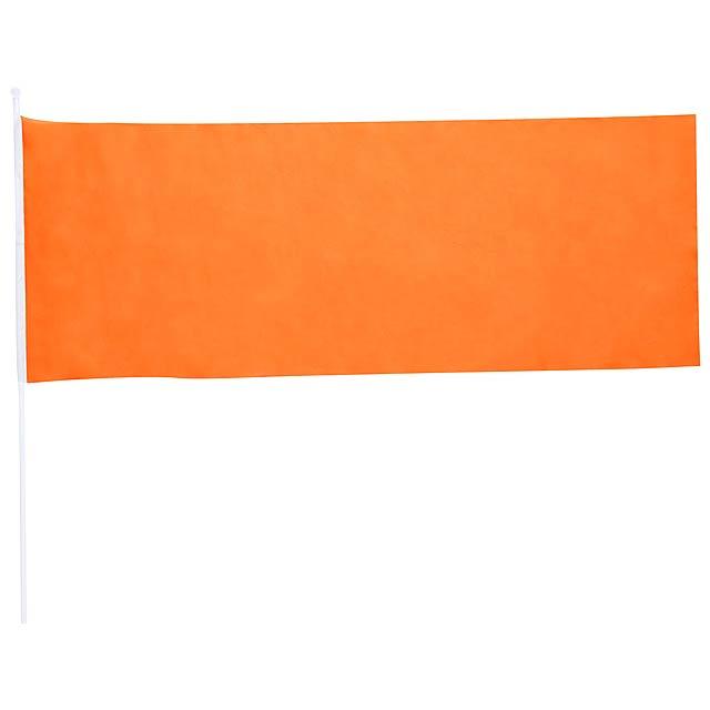 Portel praporek - oranžová