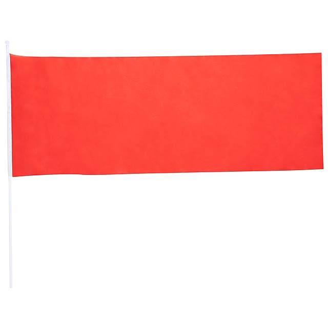 Portel praporek - červená