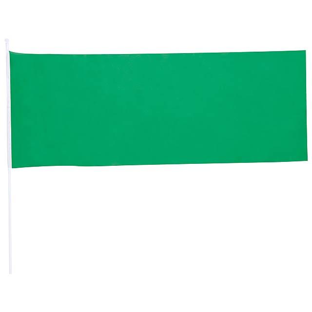 Portel praporek - zelená