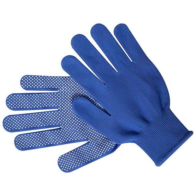 Hetson rukavice - modrá
