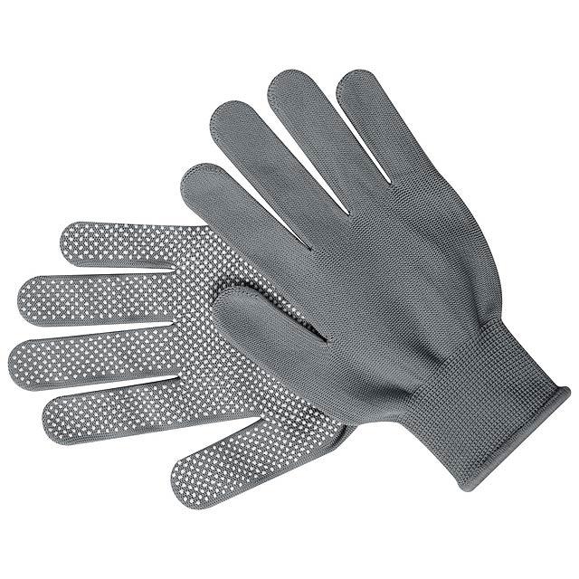 Hetson rukavice - šedá