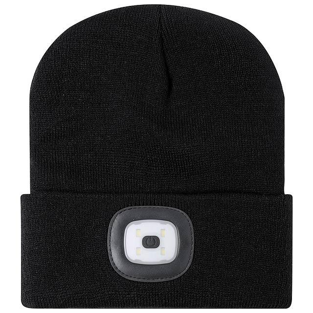 Koppy zimní čepice - černá