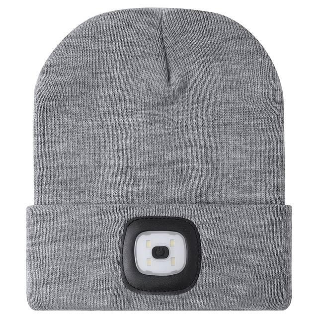 Koppy zimní čepice - šedá