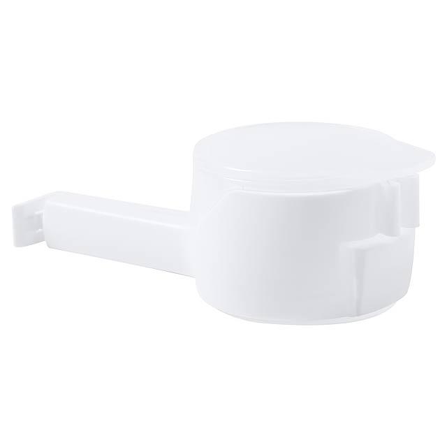 Dacix klip na uzavření sáčku - bílá