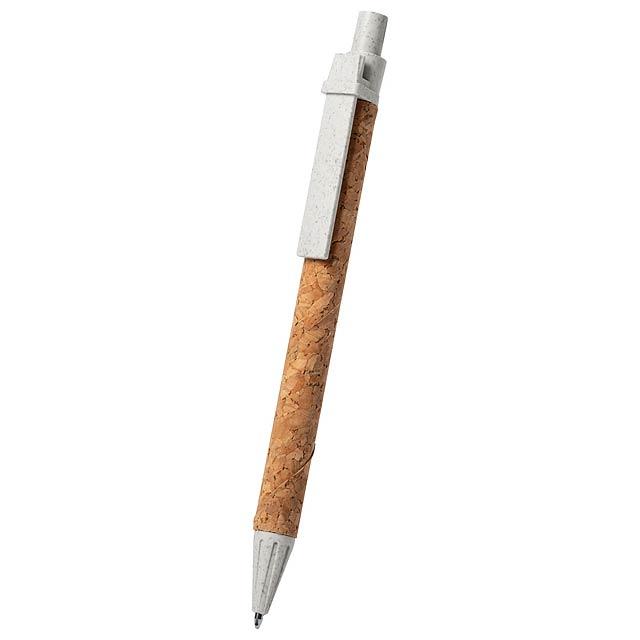 Pevex kuličkové pero - béžová