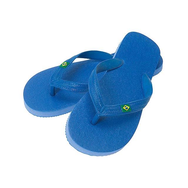 Brasileira žabky - modrá