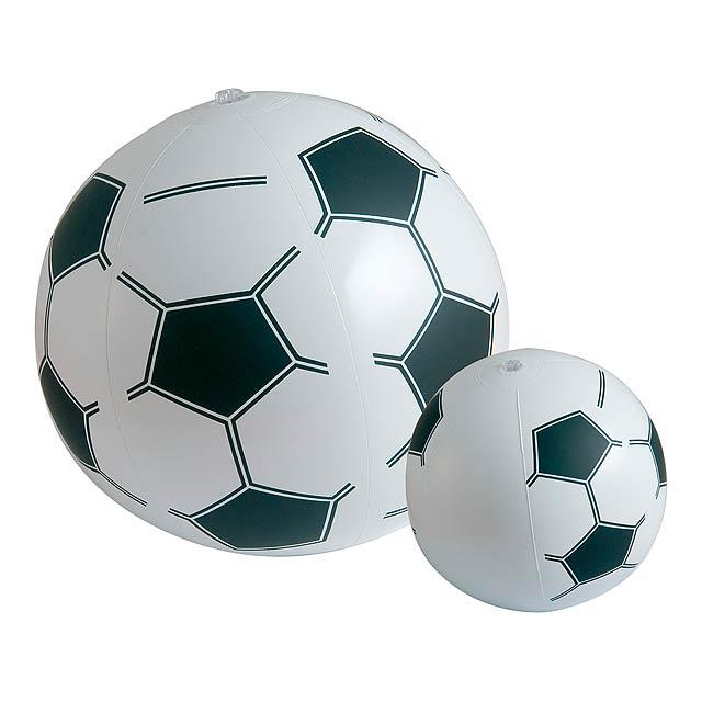 Plážový PVC míč, 6 dílů. Délka panelu: 330 mm. - multicolor - foto