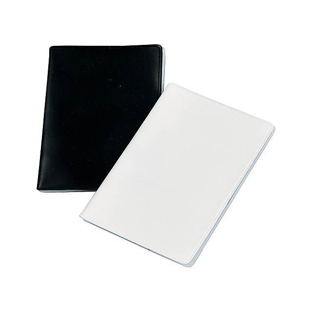 Multicard obal na paměťové karty - bílá