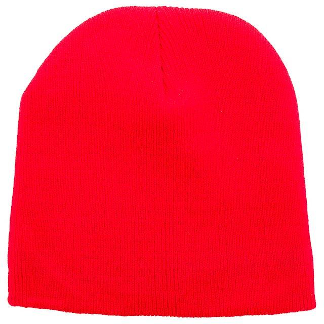 Jive zimní čepice - červená