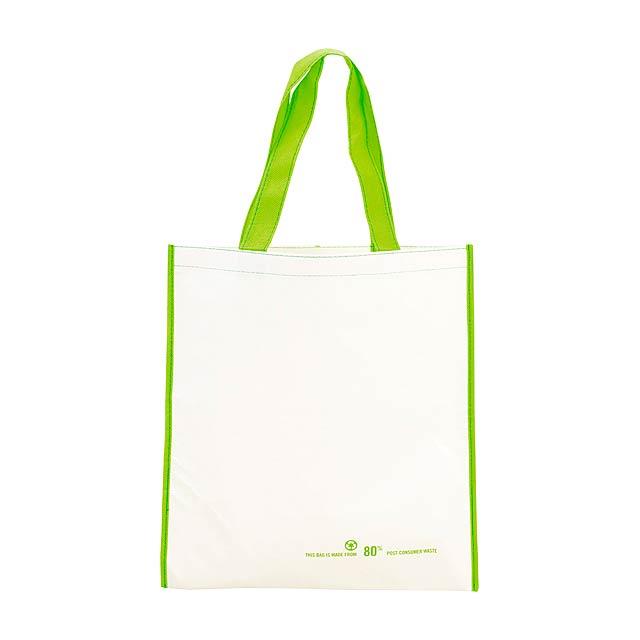 Helena nákupní vánoční taška - bílá