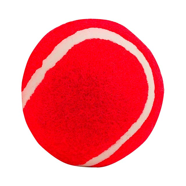 Ball for dogs - red