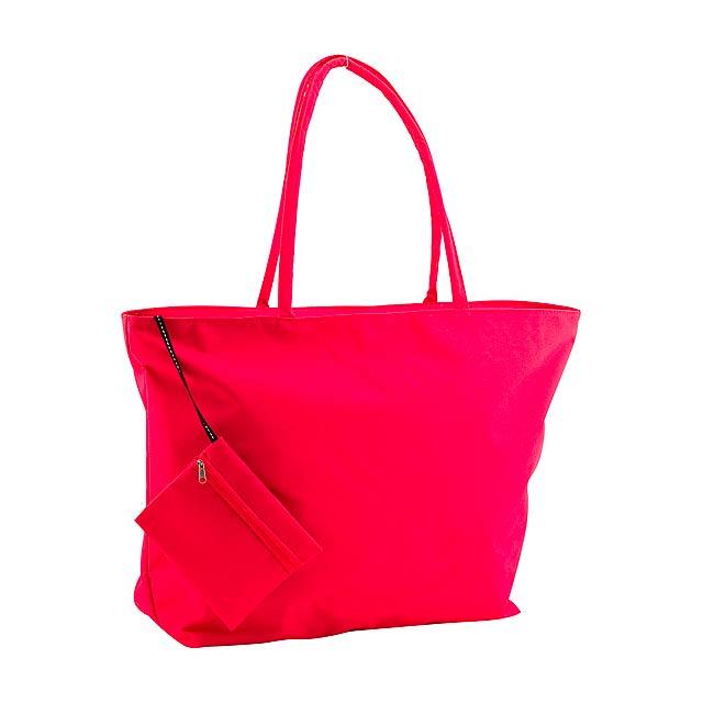 Maxize plážová taška - červená