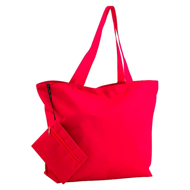 Monkey plážová taška - červená