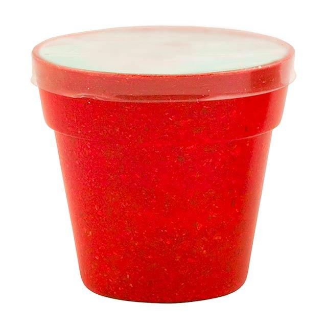 Flower pot - red