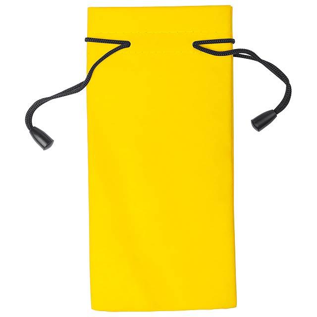 Milla obal na brýle - žlutá