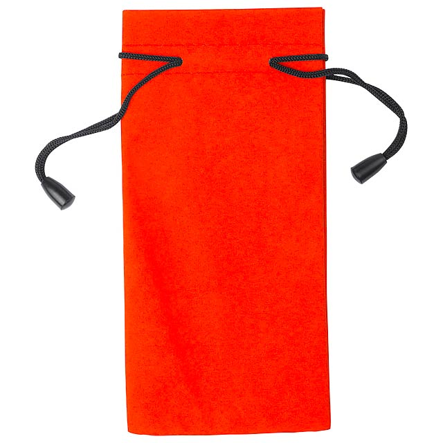 Milla obal na brýle - oranžová