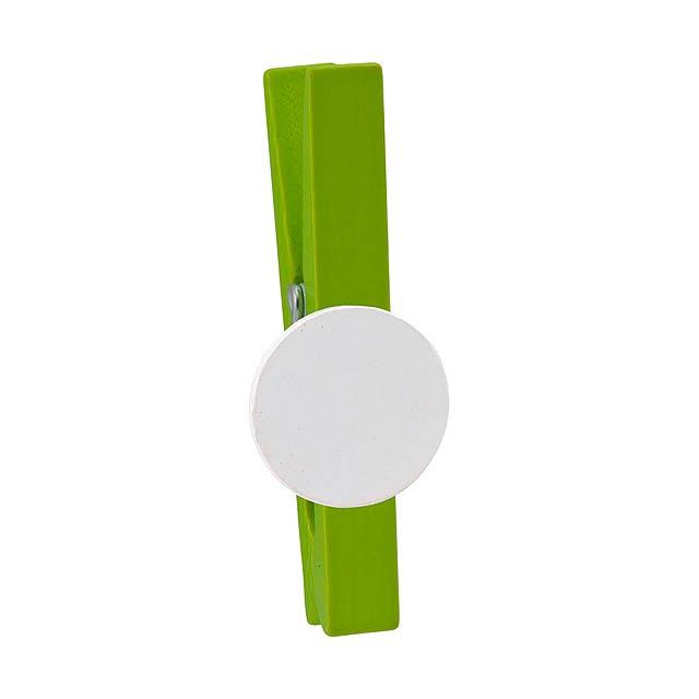 Cerra klip na poznámky - zelená