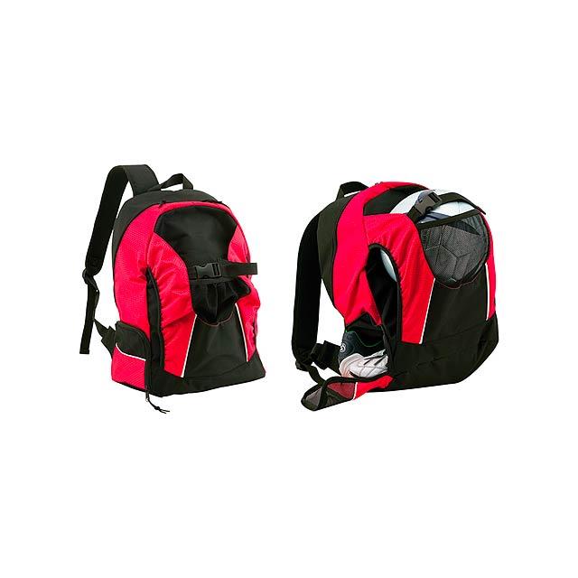 Nitro batoh - červená