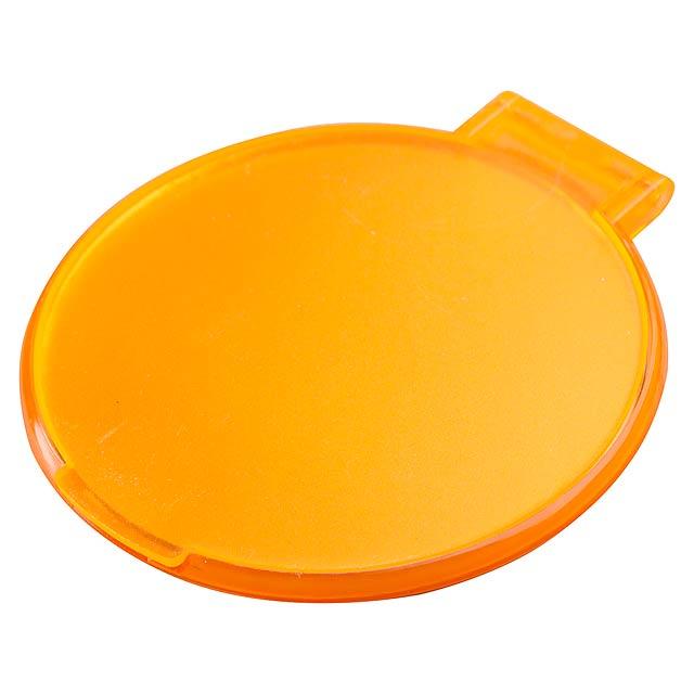 Thiny zrcátko - oranžová
