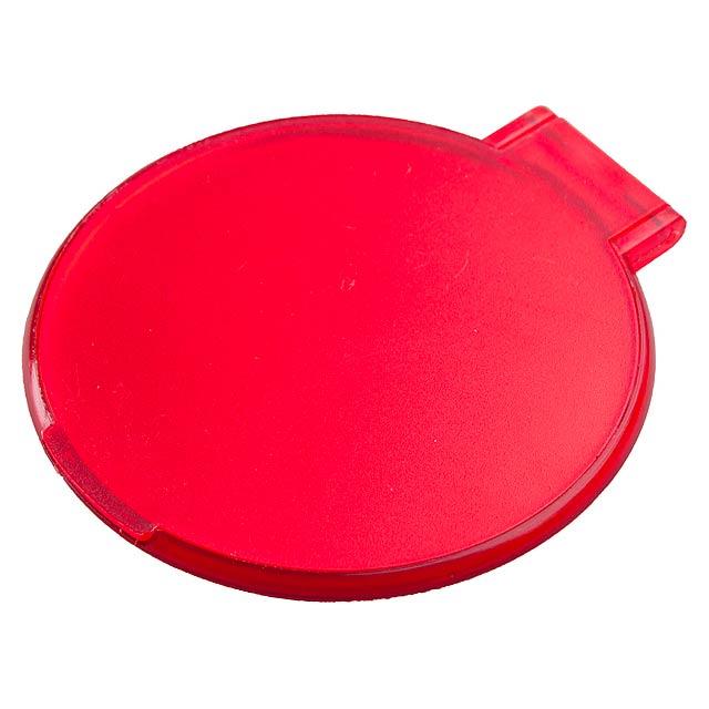 Thiny zrcátko - červená