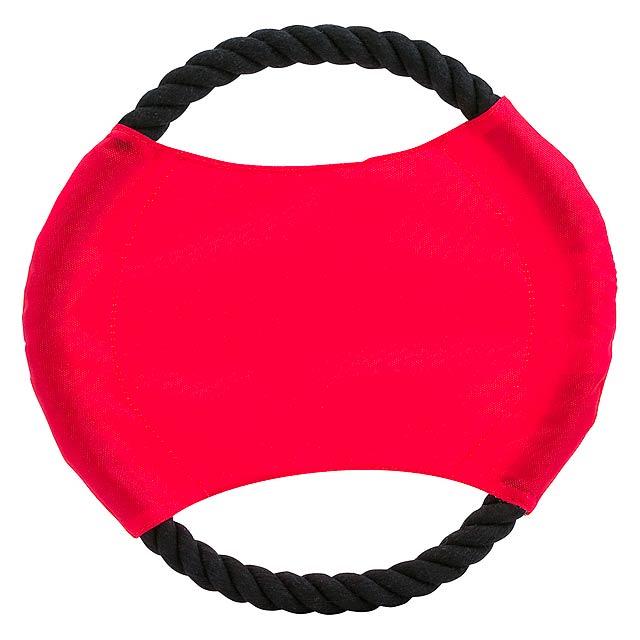 Flybit frisbee pro psy - červená