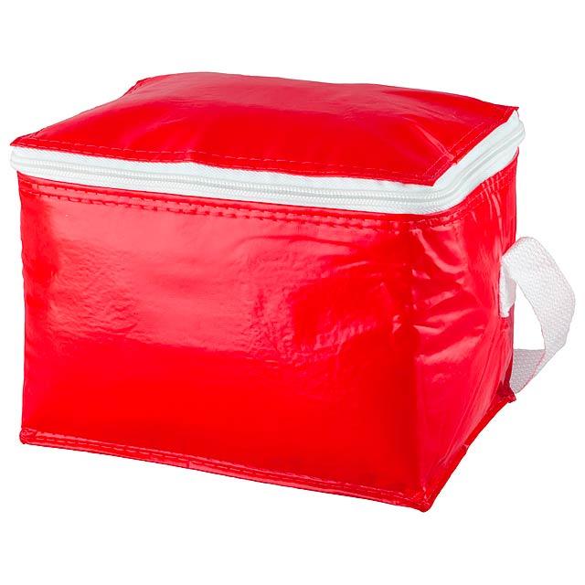 Coolcan chladící taška - červená