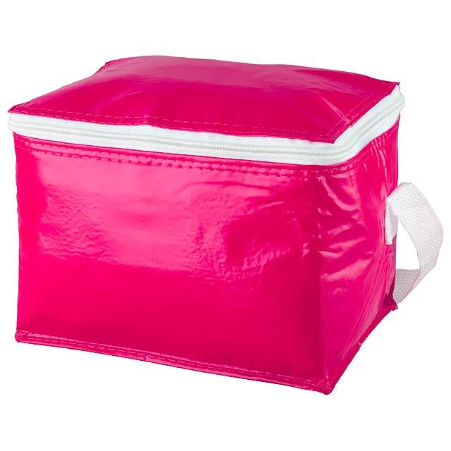 Coolcan chladící taška - fuchsiová (tm. růžová)