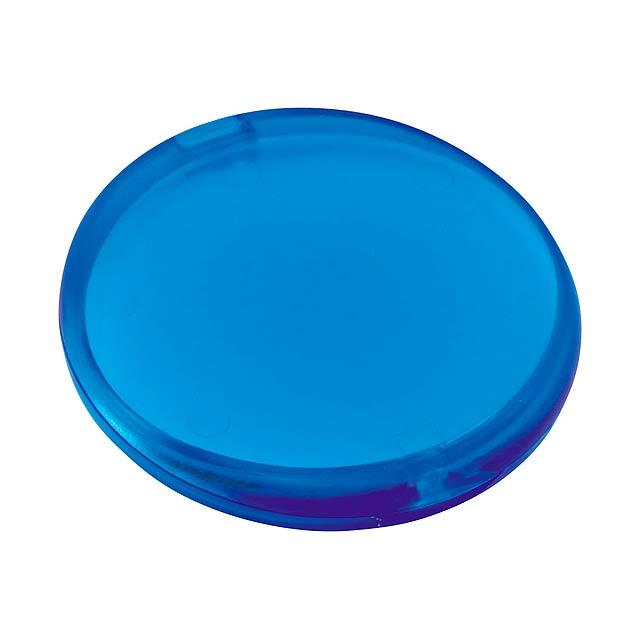 Cleany mýdlo v plastovém pouzdře - 20 plátků - modrá