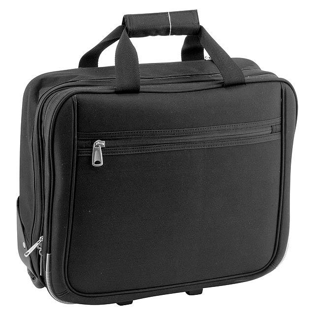 Cubic taška na kolečkách - černá