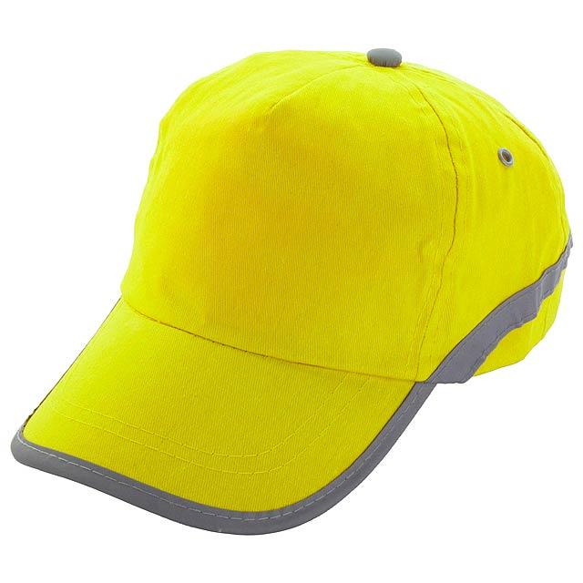 Tarea baseballová čepice - žlutá