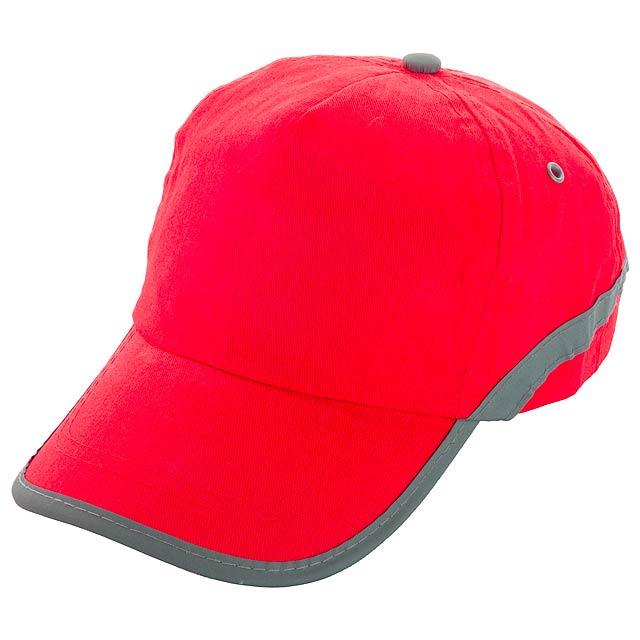 Tarea baseballová čepice - červená