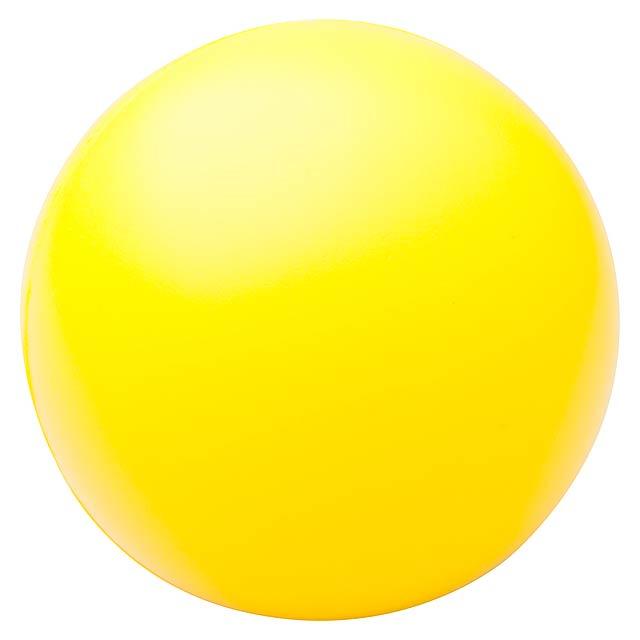 Pelota antistresový míček - žlutá